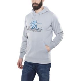 Bergans Hoodie Men Grey Melange/Graphite/Ocean